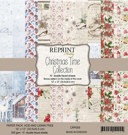 Reprint - Christmas Time 12x12 collection kit