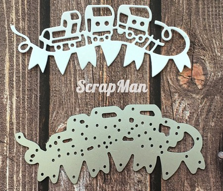 ScrapMan Dies - Little Train