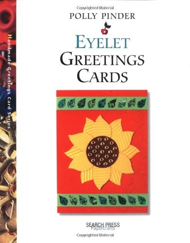 Search Press - Eyelet Greeting Cards by Polly Pinder