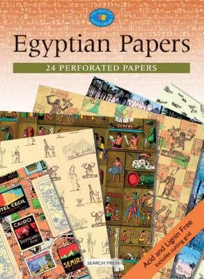 Search Press - Egyptian Papers (24 Perforated Papers)