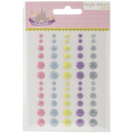 Simple Stories - Enchanted Collection - Enamel Dots