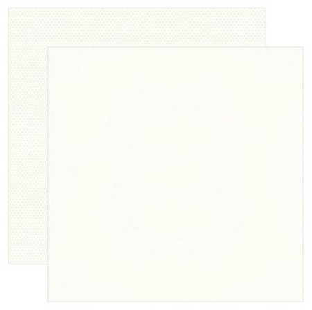 Simple Stories - Warm White Color Vibe 12x12 Textured Cardstock