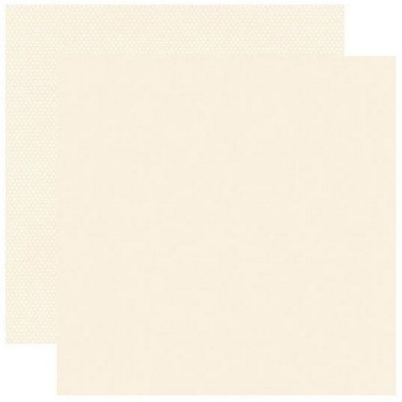 Simple Stories - Cream Color Vibe 12x12 Textured Cardstock