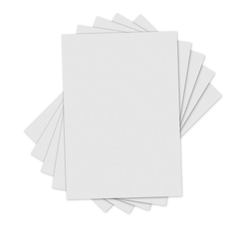 Sizzix Accessory - Inksheets Transfer Film - 5 White sheets