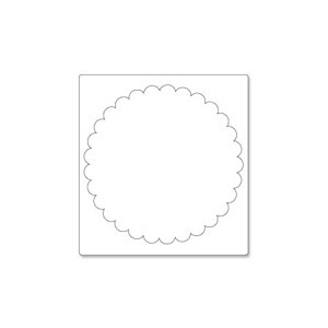 Sizzix PRO Die - Scallop Circle