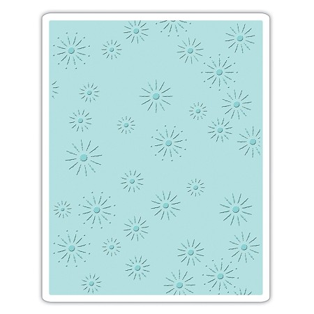 Sizzix - Texture Fades Embossing Folder by Tim Holtz - Sparkles