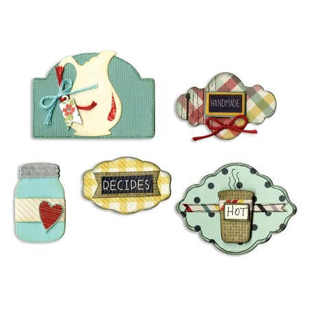 Sizzix Framelits Die - by Eileen Hull - Kitchen Labels :)