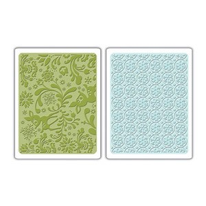 Sizzix Textured Impressions - Dearly & Frost Set :)