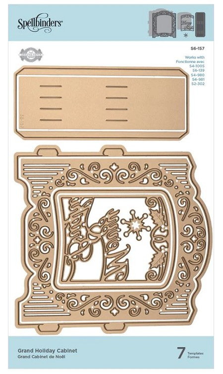 Spellbinders - Grand Holiday Cabinet die by Amazing Paper Grace