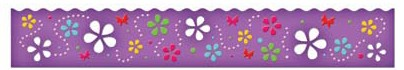 "Spellbinders-Dies-Grand 12"" Flower Whimsy Borderabilities"
