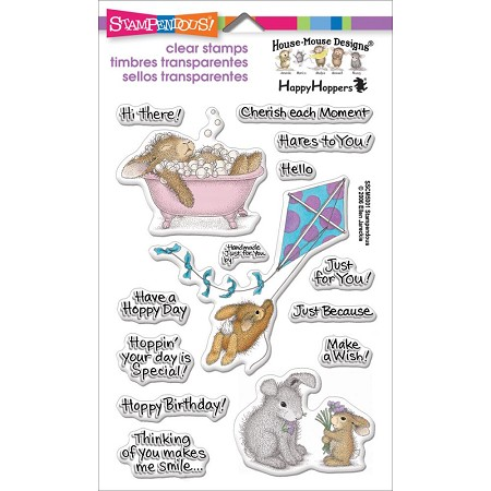 Stampendous Perfectly Clear Stamp - House Mouse Hoppy Moments