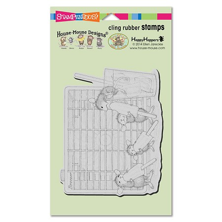 Stampendous Cling Mounted Rubber Stamps - House Mouse Designs - Frozen Treat