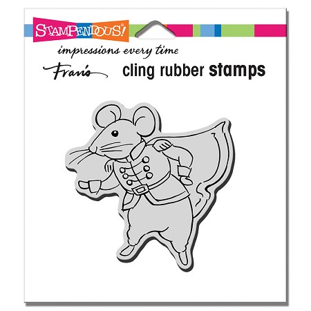 Stampendous - Cling Prince Mouse Rubber Stamp