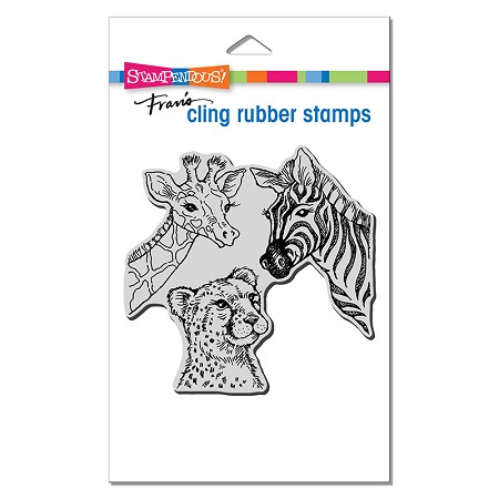 Stampendous - Cling Safari Sighting Rubber Stamp