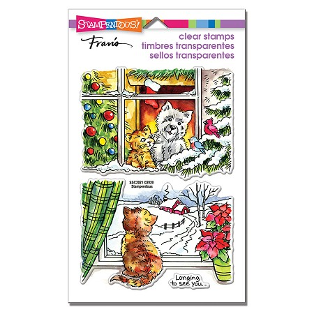 Stampendous - Window Views Perfectly Clear Stamps