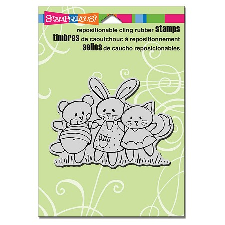 Stampendous Cling Mounted Rubber Stamps - Spring Pals