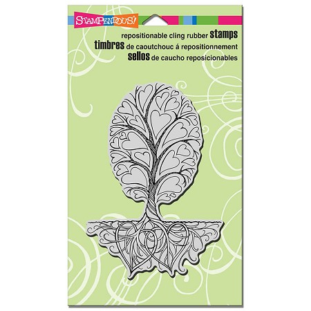 Stampendous Cling Mounted Rubber Stamps - Roots Of Love