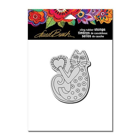 Stampendous - Laurel Burch - Cling Rubber A Happy Heart