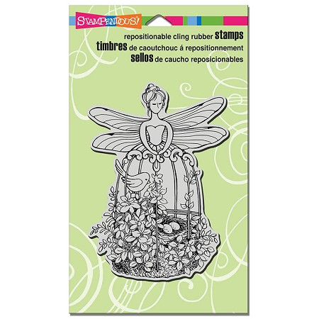 Stampendous Cling Mounted Rubber Stamps - Fairy Aviary