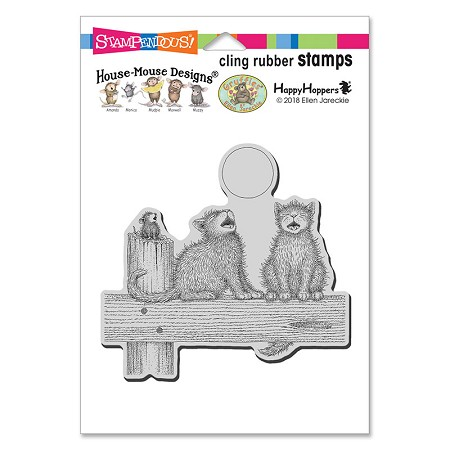 Stampendous Cling Mounted Rubber Stamps - House Mouse Designs - Moon Song Cling Rubber Stamp