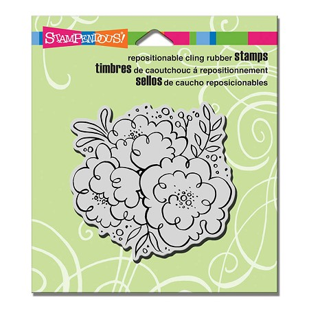 Stampendous Cling Mounted Rubber Stamps - Blossom Trio