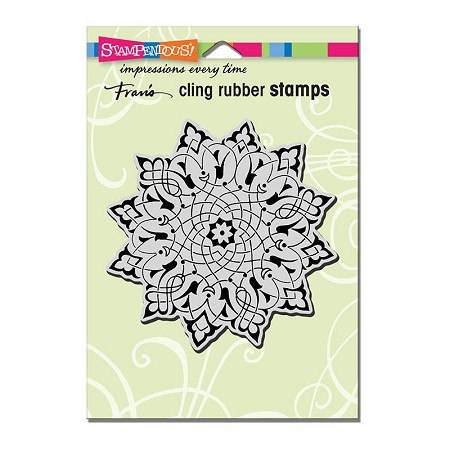 Stampendous Cling Mounted Rubber Stamps - Arabesque