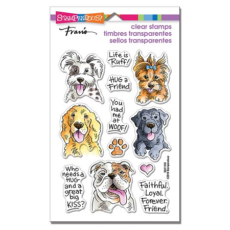 Stampendous - Dog Kisses Perfectly Clear Stamps