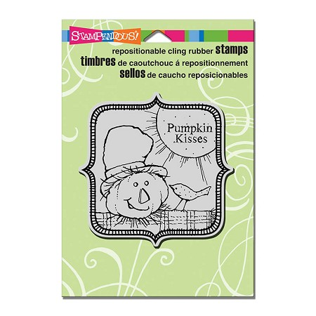 Stampendous Cling Mounted Rubber Stamps - Scarecrow Kisses