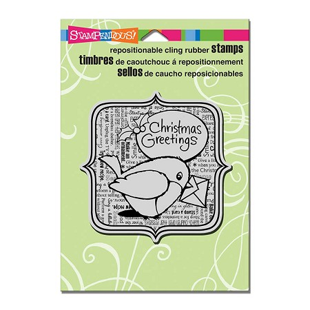 Stampendous Cling Mounted Rubber Stamps - Robin Greetings