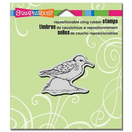 Stampendous Cling Mounted Rubber Stamps - Small Sandpiper