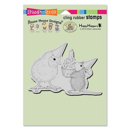 Stampendous Cling Mounted Rubber Stamps - House Mouse Designs - Birthday Chick Rubber Stamp