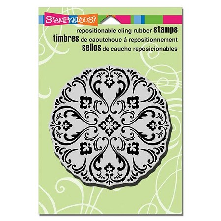 Stampendous - Cling Mounted Rubber Stamp - Medallion Circle