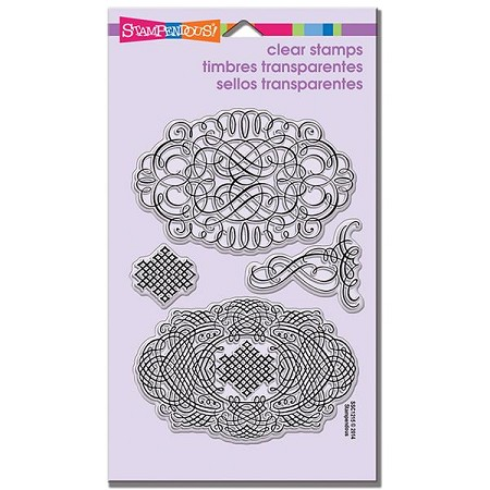 Stampendous Perfectly Clear Stamp - Lacy Ovals