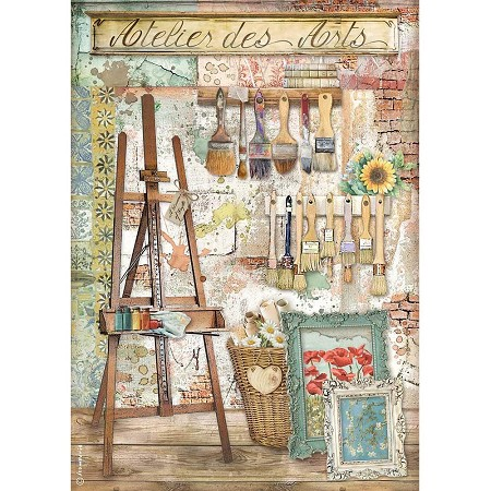 Stamperia - Atelier des Arts Easel Rice Paper