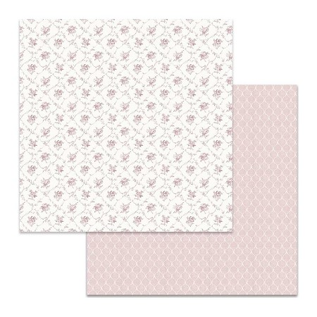 "Stamperia - Wedding - Little Pink Flowers 12""x12"" Paper"