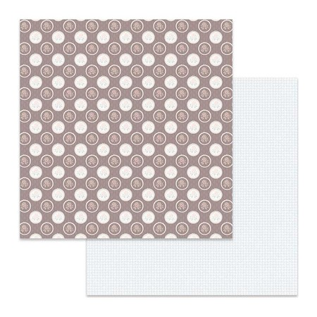 "Stamperia - Pink Soul - Rose Dots 12""x12"" Paper"