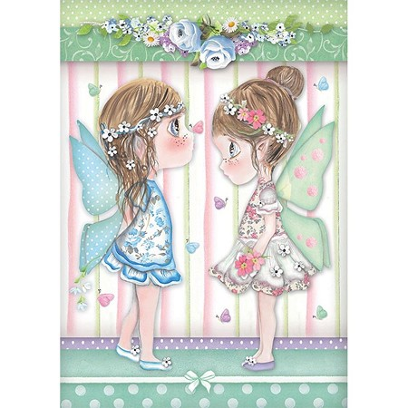 Stamperia - Tatiana's Fairies with Butterflies Rice Paper