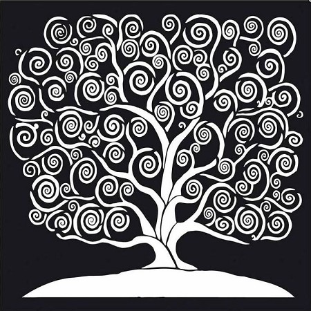 Stamperia - Tree of Life Stencil (12x12)