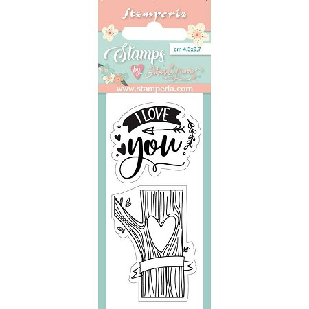 Stamperia - Love Story I Love You Clear Stamps