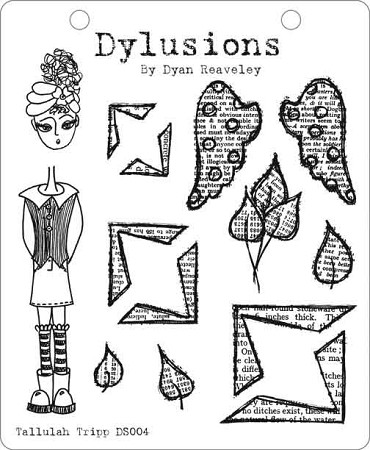 Dylusions - Cling Rubber Stamps - Tallulah Tripp :)