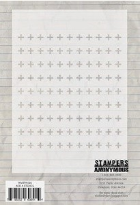 "Stamper's Anonymous - Studio 490 - 6.25x4.5"" Stencil - Add A Stencil"