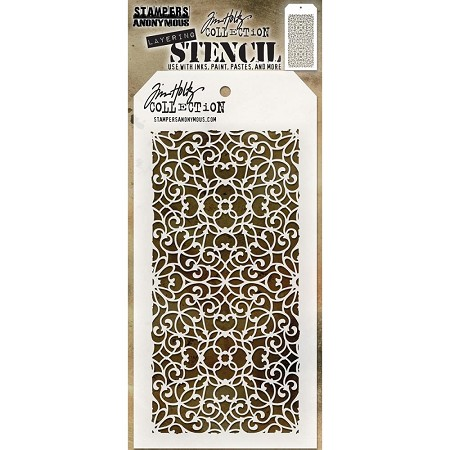 Stamper's Anonymous / Tim Holtz - Layering Stencil - Ornate