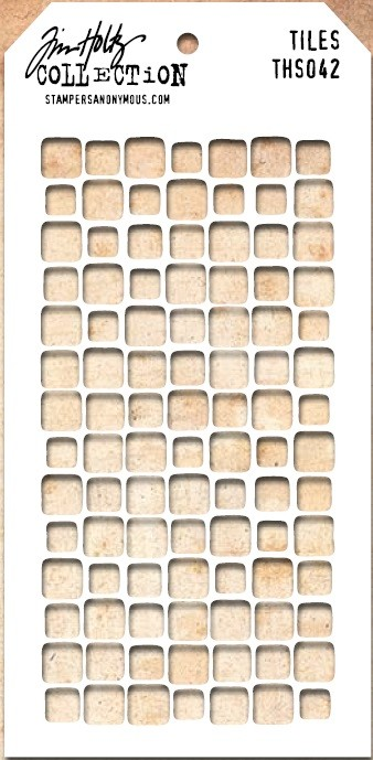 Stamper's Anonymous / Tim Holtz - Layering Stencil - Tiles