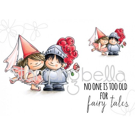 Stamping Bella - Cling Rubber Stamp - Fairy Tale Squidgies