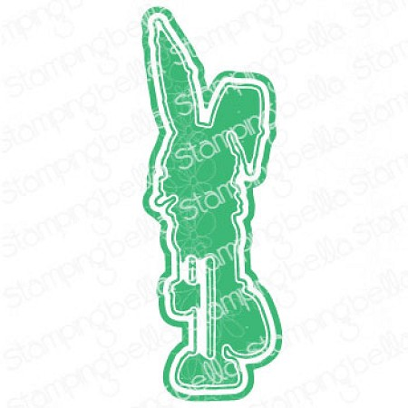 Stamping Bella - Cutting Dies - Oddball Easter Bunny CUT IT OUT dies