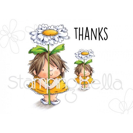 Stamping Bella - Cling Rubber Stamp - Daisy Squidgy