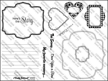 StampingScrapping-Clear Stamp-Dash it All
