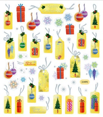Sticker King-Flat Stickers-Christmas Tags