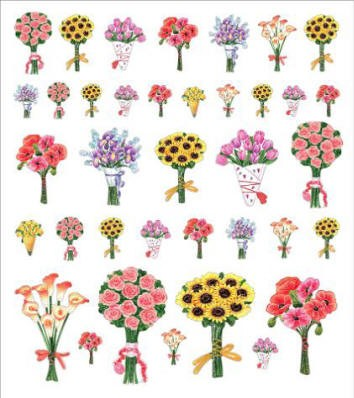 Sticker King-Flat Stickers-Bouquets