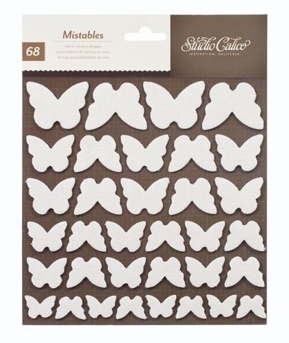 Studio Calico - Heyday Collection - Mistables Sticker Shapes - Butterflies